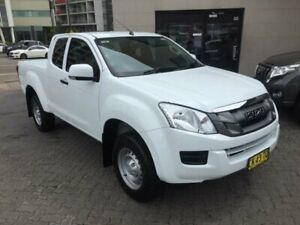 2016 Isuzu D-MAX TF MY15.5 SX HI-Ride (4x2) White 5 Speed Automatic Space Cab Utility North Strathfield Canada Bay Area Preview