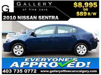 2010 Nissan Sentra 2.0 $89 bi-weekly APPLY NOW DRIVE NOW