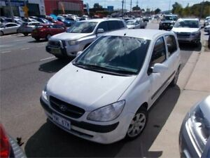 2010 Hyundai Getz TB MY09 S White 4 Speed Automatic Hatchback Fyshwick South Canberra Preview