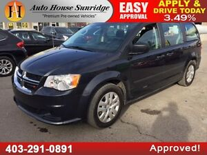 2014 DODGE GRAND CARAVAN SE WHEELCHAIR ACCESSIBLE