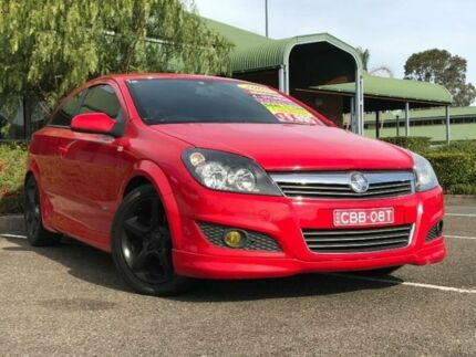 2008 Holden Astra AH SRi Red Manual Coupe Mount Druitt Blacktown Area Preview