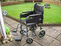 Days Escape lite wheelchair in good condition. Buyer collects.
