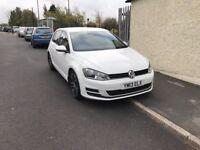 13 REG VW GOLF 1.6 TDI SE - WHITE - EXCELLENT CONDITION - LOW MILES
