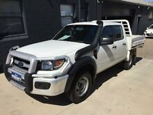 2011 Ford Ranger PK XL (4x4) White 5 Speed Manual Dual Cab Chassis Mortdale Hurstville Area Preview