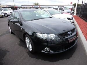 2009 Ford Falcon FG XR6 Black Metallic 5 Speed Auto Seq Sportshift Sedan