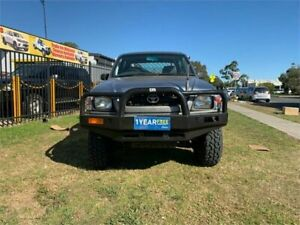 2002 Toyota Hilux KZN165R MY02 Silver Manual Utility Ingleburn Campbelltown Area Preview