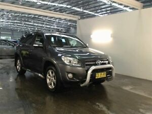 2011 Toyota RAV4 GSA33R 08 Upgrade SX6 Grey 5 Speed Automatic Wagon Beresfield Newcastle Area Preview