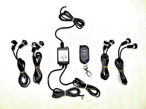 HIGH POWER UNIVERSAL AMBER REMOTE CONTROLLED LED STROBE KIT