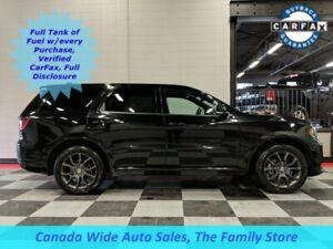 2018 Dodge Durango AWD R/T, Navigation, Sunroof, Back Up Camera,