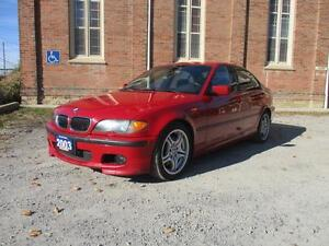 2003 BMW 3 Series 330i  ZHP  M PACKAGE! IMOLAR RED! WOW!