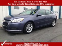 -2014 Chev Malibu LT- Sunroof ! Bluetooth ! Low Low Payments !