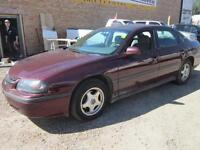 2004 CHEV IMPALA 177KMS $2595 306-242-1777 one day only!