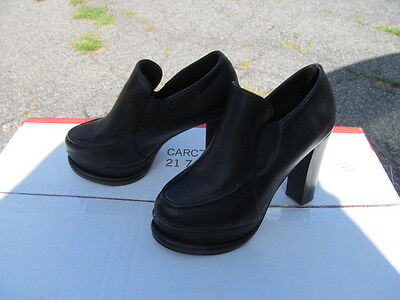 Shoes For Halloween Costumes (Ladies Black Healed Monster Shoes for Halloween Size 7.5)