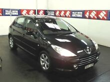 2006 Peugeot 307 MY06 Upgrade XSE 2.0 Black 4 Speed Tiptronic Hatchback Cardiff Lake Macquarie Area Preview
