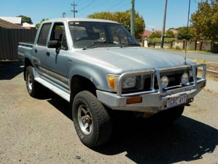 1989 Toyota Hilux LN106R SR5 Blue 5 Speed Manual Utility Victoria Park Victoria Park Area Preview
