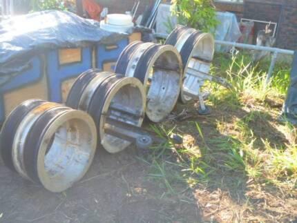 DRUM ROLLER SPREADER ALuminium IN 4 Sizes