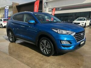 2018 Hyundai Tucson TL3 MY19 Elite D-CT AWD Blue 7 Speed Sports Automatic Dual Clutch Wagon Muswellbrook Muswellbrook Area Preview