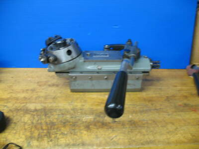 Hardinge Dv-59 Dsm-59 Model L 6 Station Bed Turret 3-12 Dove Tail 34 Bore