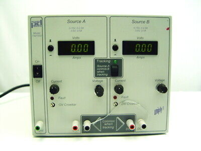 Power Designs Tw1550 Dual Output Laboratory Regulated Dc Power Supply