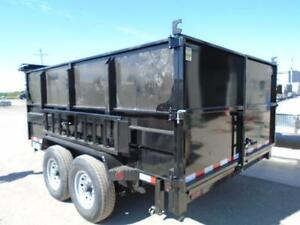 Mobile Dumpster 7 x 12' with 4' high sides -7 ton -Pay 193 month London Ontario image 2