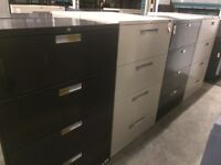 Used 4 Drawer filing Cabinets starting at $199