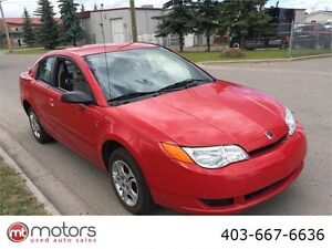 2004 Saturn Ion Quad Coupe Midlevel Low kms