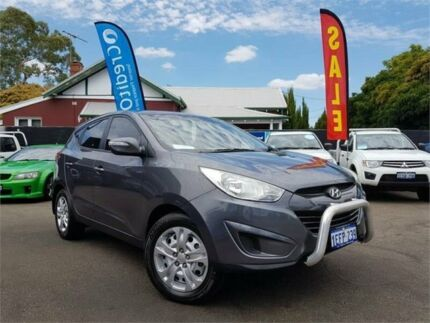 2013 Hyundai ix35 LM Series II Active (FWD) Grey 6 Speed Automatic Wagon Mount Hawthorn Vincent Area Preview