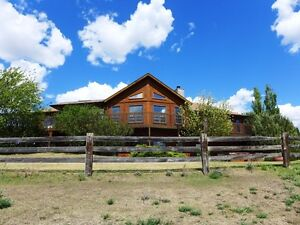 Gorgeous Hilltop Acreage Home Near Camrose