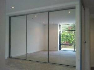 MIRROR WARDROBE DOORS $500 (INC GST)* INSTALLED SYDNEY WIDE