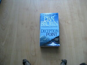 Deception Point by Dan Brown (Paperback/New/never used)