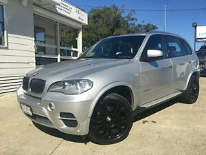 2012 BMW X5 E70 MY1112 xDrive30d Steptronic Silver Semi Auto Wagon Surfers Paradise Gold Coast City Preview