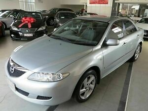 2002 Mazda 6 GG1031 Classic Silver 4 Speed Sports Automatic Sedan Albion Brisbane North East Preview