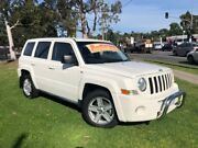 2010 Jeep Patriot MK MY2010 Sport White 5 Speed Manual Wagon Ferntree Gully Knox Area Preview