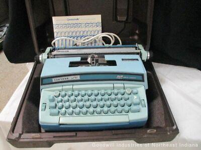 Smith Corona Coronet Super 12 Coronamatic Typewriter With Case Cf