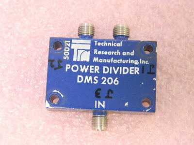 Trm Dms206 2-way Power Divider 2.0-4.0ghz Smaf