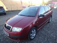 SKODA FABIA 1.4 TDi BOHEMIA~06/2006~5 DOOR ESTATE~5 SPEED MANUAL~CAMBELT CHANGED