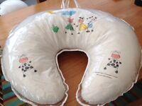 Mothercare feeding pillow & advent bottle steriliser