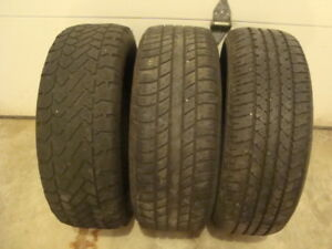 Three 215 X 60R X 16 Snow Tires