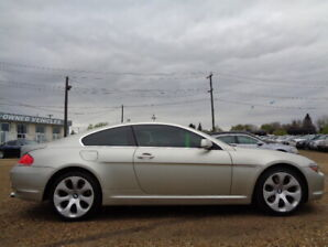 2005 BMW 645Ci SPORT Coupe_4.4L V8-LEATHER_SUNROOF_ONLY 112K