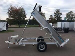 NEW 2018 ECO-THOR 5' x 10' ALUMINUM DUMP TRAILER