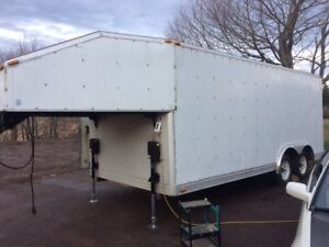 24 foot enclosed trailer just in time for speedsport