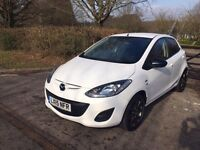 2015 MAZDA 2 WHITE EDITION / 1.4 PETROL CAT D 14,000 MILES ONLY ON THE CLOCK / IMMACULATE CONDITION