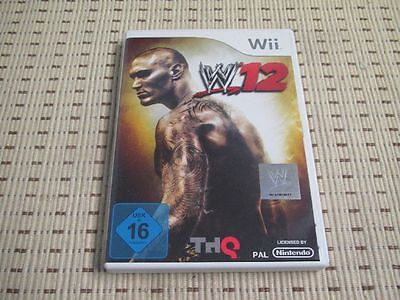 WWE 12 für Nintendo Wii und Wii U *OVP* ()