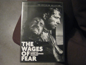 Wages of Fear Criterion Collection DVD