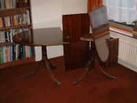Dining Table and Eight Chairs.