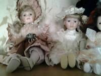 Collection Porcelin Dolls x15