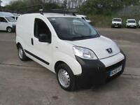 Peugeot Bipper 1.3Hdi S Plus Pack Non Start /Stop DIESEL MANUAL WHITE (2015)
