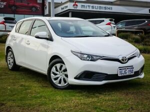2017 Toyota Corolla ZRE182R Ascent S-CVT White 7 Speed Constant Variable Hatchback Wangara Wanneroo Area Preview