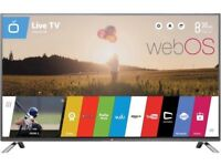 47 inches LG slim - wifi builtin - freeview hd- 1080p- webOS LED TV