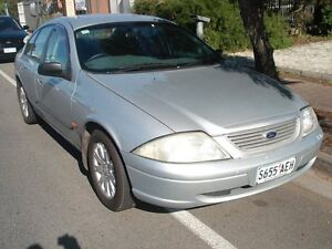 2000 Ford Falcon AU Forte Silver 4 Speed Automatic Sedan Somerton Park Holdfast Bay Preview